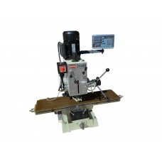 "9 1/2"" x 40"" Gear Drive Milling Machine Power Feed & DRO 