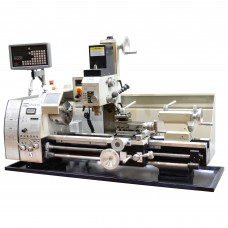 "11"" x 28"" High Precision Variable Speed Combo Lathe W. DRO - Combo Lathe/Mill/drills 