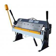 "HRMCTOOL Box and Pan Brake 24"" x 20 Gauge Sheet Metal Bending Machine"