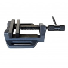 """HRMCTOOL 4"""" Vise Clamps Bench Vice Slide Tool Drill Press 2 Jaw"""
