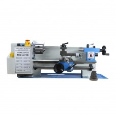 "7"" × 14"" Variable Speed Benchtop Mini Metal Lathe MT3 110V 3/4HP"