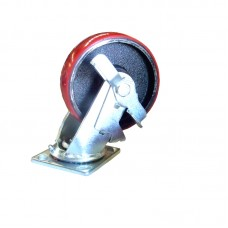 "6"" Diameter Wheel with Swivel Casters"