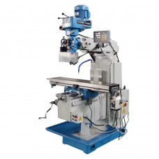 "Multiple Speed 3-Axis 10"" x 54"" Vertical Turret Drill Milling Machine"