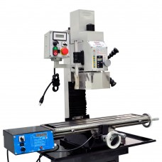 """27 1/2"""" x 7"""" VARIABLE SPEED MILL DRILL WITH POWER FEED  