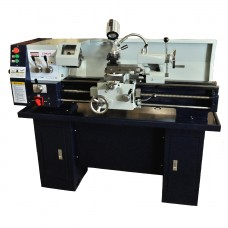 12in x 36in Gear Head Metal Lathe With Stand Coolant System Stand Included! | CQ9336