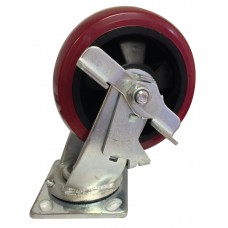 Swivel Caster Wheels with Locking Mechanism 4.75""