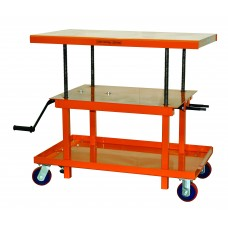 Mechanical Hand-Crank Hydraulic Lift Table | 2200 lb | MT3036