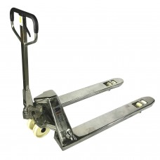 "A1AF-INOX STAINLESS STEEL Pallet Truck / Jack  4400LBS  Capacity 48""L x 27""W Fork"