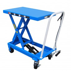 "Single Scissor Lift Table 500Lbs Capacity 28.5"" Max Lifting Height"