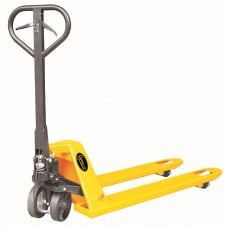 "Manual Pallet Jack Truck With Brake System  5500lbs Capacity 48""L×27""W Fork BFB"