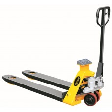 "Scale Manual Pallet Jack Truck | 4400lbs Capacity | 48""L×27""W Fork BFC6-7"