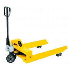"Manual Pallet Jack Truck With Roll Reel 2200lbs Capacity 45""L×38""W Fork BFJ"