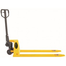 "Low Profile Manual Pallet Jack Truck 2200lbs Capacity 48""L×27""W Fork BFL-10"