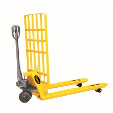 "Manual Pallet Jack Truck With Box Guard 5500lbs Capacity 48""L×27""W Fork BFR"