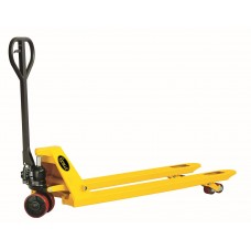 "Heavy Duty Narrow Manual Pallet Jack 5500 lbs Capacity 48""L×21""W Fork DF-III-1"