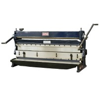"52"" Heavy Duty Combination 3 in 1 Sheet Metal Shear-Brake-Press Machine"
