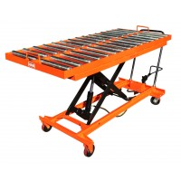Roll Surface Hand Hydraulic Lift Table 1100 lb| TF50BR