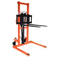 Foot Operated Pallet Stacker w/ Fixed Leg | 2200 lb | HS-01-1000