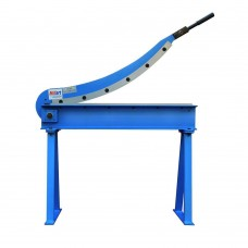"Millart 31"" x 16 Ga. Sheet Metal Plate Cutting Hand Guillotine Shear With Stand"