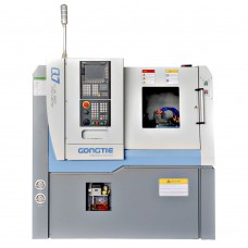 "15.7"" × 11.8"" Gang Tool CNC Lathe with Chip Conveyor 