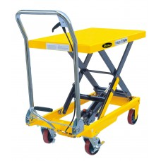 "Manual Single Scissor Lift Table 1100lbs 35.4"" lifting height SP500"