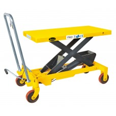 "Manual Single Scissor Lift Table 1760 lbs 39.4"" lifting height SP800"