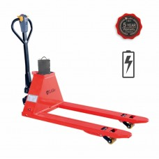 "Full Electric Pallet Jack Truck capacity 3000lbs  48""L×27""W Fork"