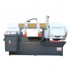 "Semi-automatic 4HP 13"" × 28"" Double-column Horizontal Band Saw"