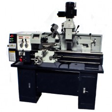 """12"""" x 30"""" Gear Head Combo Lathe Mill Drill W/ Cooling System Stand Included! 