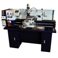 "12"" x 30"" Gear-Head Metal Lathe with Stand & Coolant 