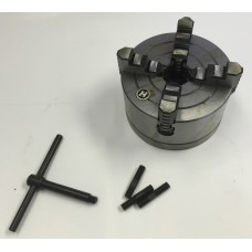 6 Inch 4 Jaw Chuck for Combo Lathe/Mill