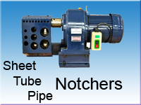 Metal Sheet, Tube / Pipe Notchers