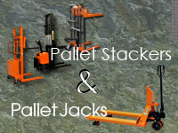 Pallet Stackers and Jacks