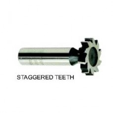 12-072-124 ARBOR TYPE HSS. WOODRUFF KEYSEAT CUTTER,STAGGERED TOOTH 1828