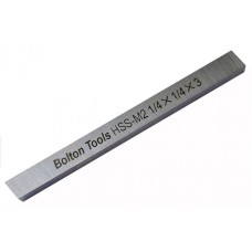 12-121  INCH SIZE TOOL BIT SQUARE TYPE HSS-M2 *