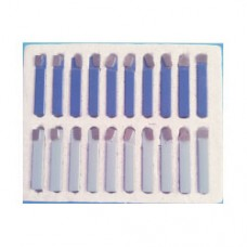 "20PCS INCH SIZE CARBIDE TIPPED TOOL SET 1/2"" SHANK 