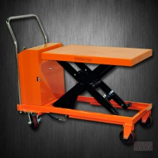 Hydraulic Hand Electric Table Truck | 1100 lb | ETF50