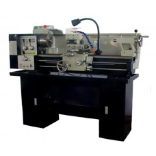 "13"" x 30"" Gear-Head Metal Lathe With Coolant System, Stand, Lamp  Stand Included! 