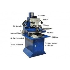 4 Axis CNC Milling Machine , CNC Lathe & CNC Machine Center | M4