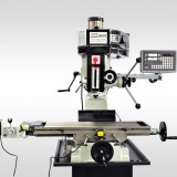 "9 1/2"" x 32"" MILL DRILL WITH POWER FEED AND 2 AXIS DRO 