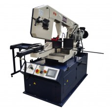13 Inch x 18 Inch Metal Cutting Band Saw With Swivel Base & PLC | BS-460G