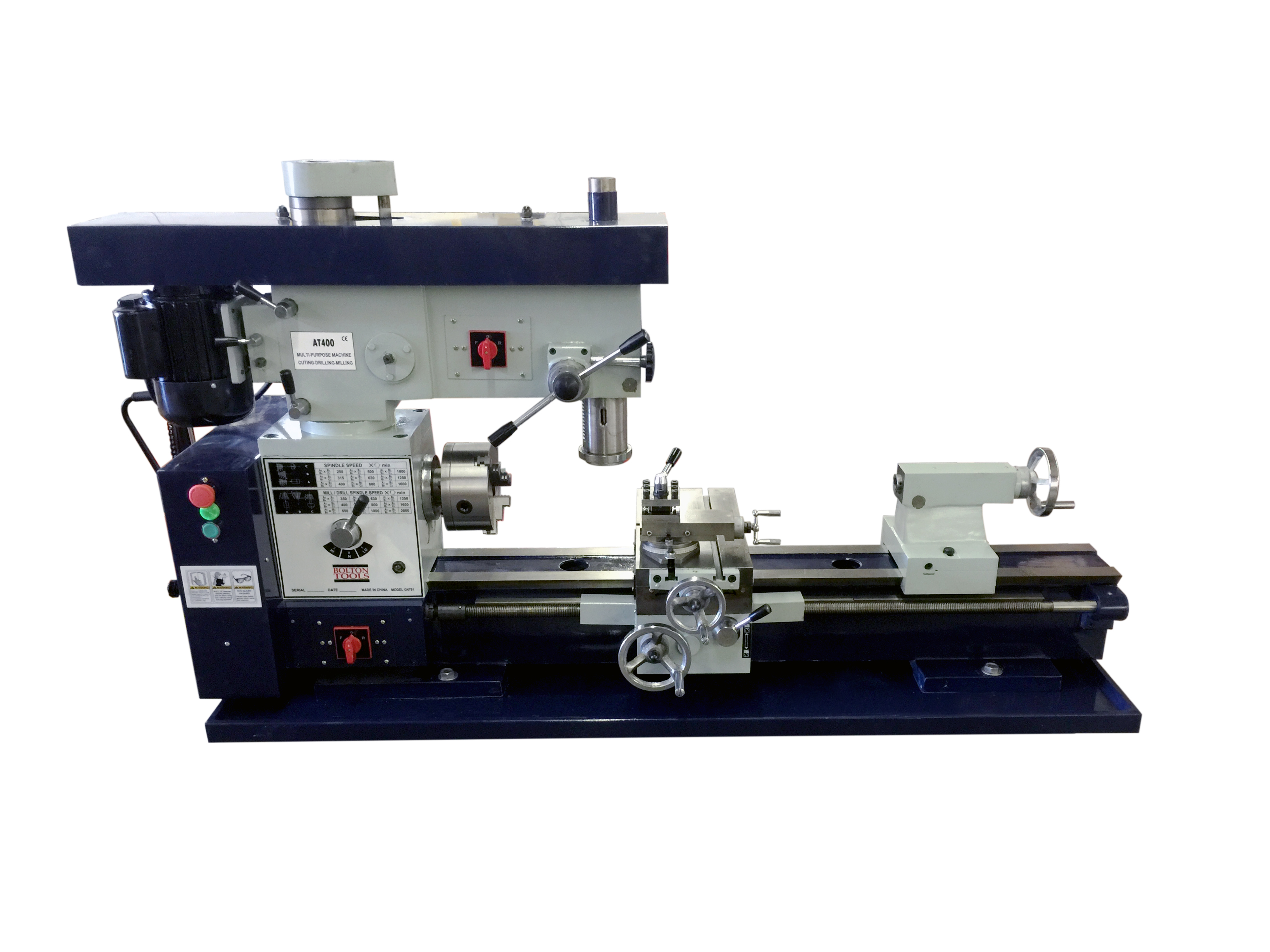 12 Quot X 36 Quot Combo Metal Lathe Mill Drill Milling Machine