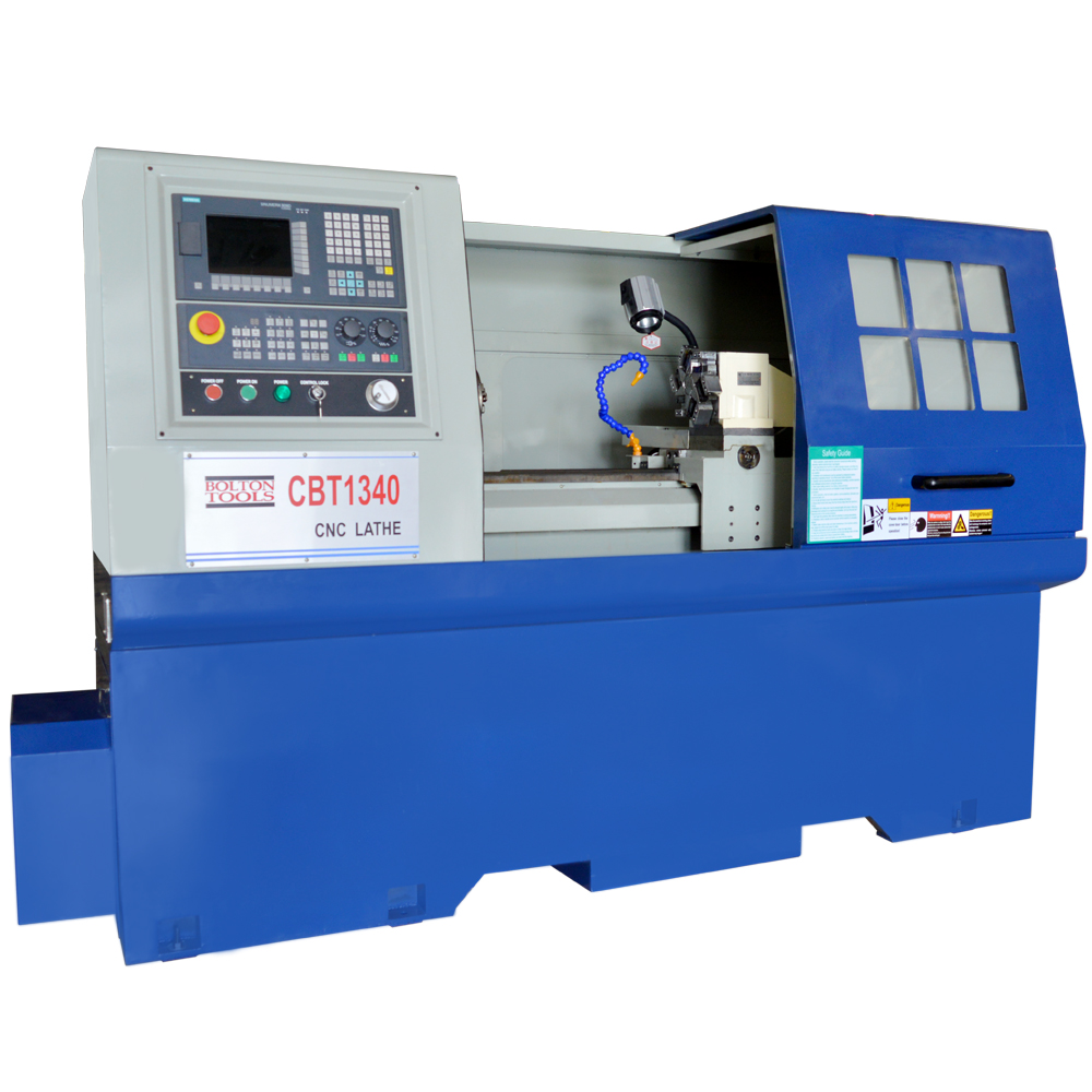 Cnc Metal Lathe With Siemens Control And Tool Changer