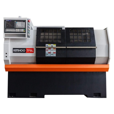 "Kimhoo 18.5"" x 24"" CNC Lathe Box-Way Type Metal Lathe 