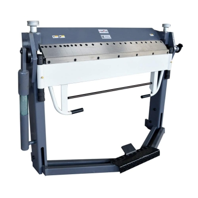 "HRMCTOOL Box and Pan Brake 50"" × 14 Gauge Sheet Metal Bender Foot Control"