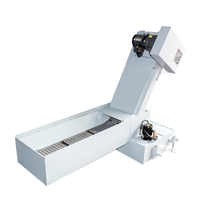Q7-CC Chip Conveyor Hinged Steel Belt Conveyor for CNC Machine
