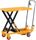 "Manual Single Scissor Lift Table 330 lbs 29"" lifting height SP150"