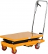 "Manual Double Scissor Lift Table | 330 lbs  | 43.3"" lifting height 