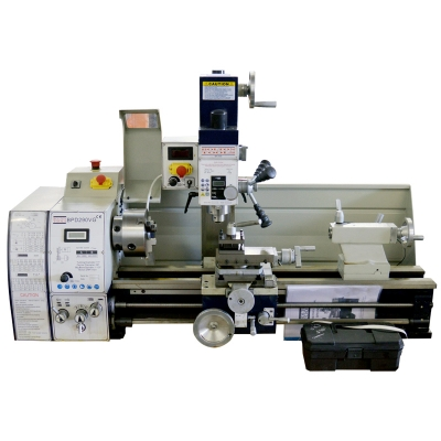 "11"" x 28"" High Precision Variable Speed Combo Lathe - Combo Lathe/Mill/drills 