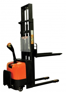 Electric Powered Stacker Forklift w/ Foot Rest | 2200 lb | E1030